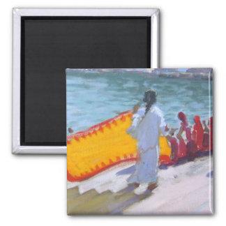 Drying Sari Pushkar Magnet