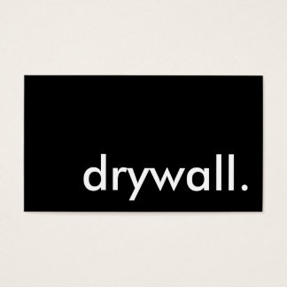 drywall. business card