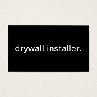 Drywall Installer Business Card