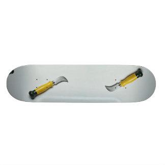 Drywall knife 21.6 cm skateboard deck
