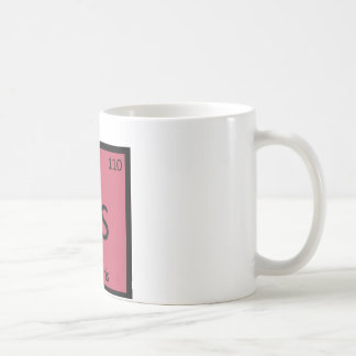 Ds - Daiquiris Chemistry Periodic Table Symbol Coffee Mug