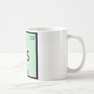 Ds - De Stijl Art Chemistry Periodic Table Symbol Mugs