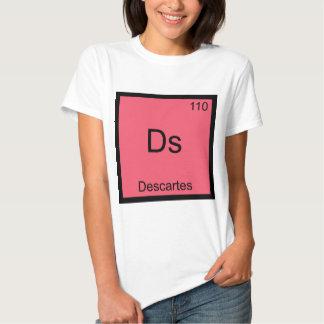 Ds - Descartes Funny Chemistry Element Symbol Tee