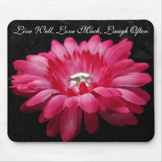 DSC00005 (2), Live Well, Love Much, Laugh Often Mouse Pad