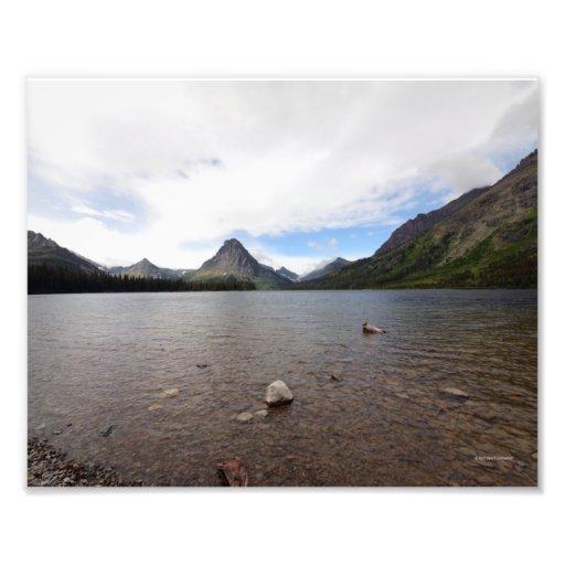 DSC 0025 8/12 St. Mary Lake, Glacier National Park Photo Print