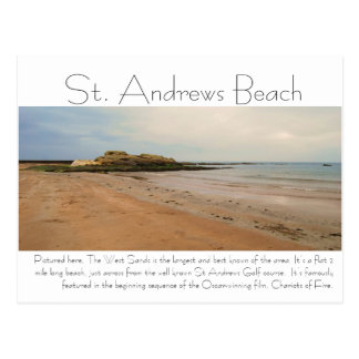 DSC_0217, St. Andrews Beach, Pictured here, The... Postcard