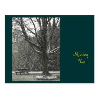 DSCF0309, Missing You... Postcard