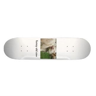 DSCF0612, funny old cow Skate Boards