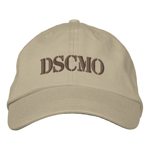 DSCMO Desert Embroidered Military Cap Embroidered Hats