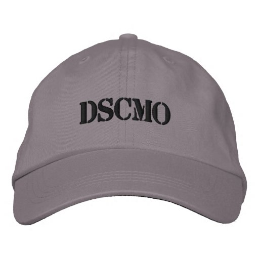 DSCMO Police cap Adjustable cap Embroidered Baseball Cap