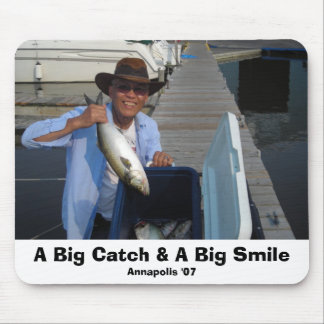 DSCN1535, A Big Catch & A Big Smile, Annapolis '07 Mouse Pad