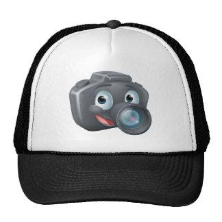 DSLR camera mascot character Hat