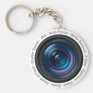 DSLR Feature Key Ring