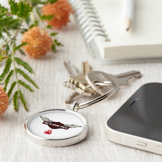 DST Renegade(Not For Sale) Silver-Colored Round Keychain
