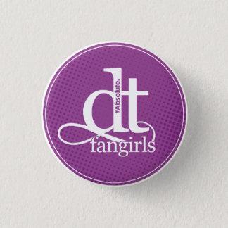 DT Fangirl Button (Purple Dots)