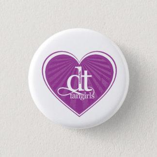 DT Fangirls (Heart Purple Button) 3 Cm Round Badge