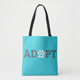DTDR Adopt Tote Bag Blue