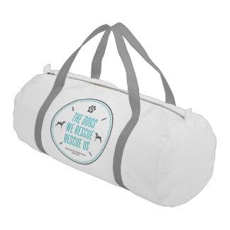 DTDR Rescue Us Duffle Bag, white Duffle Bag