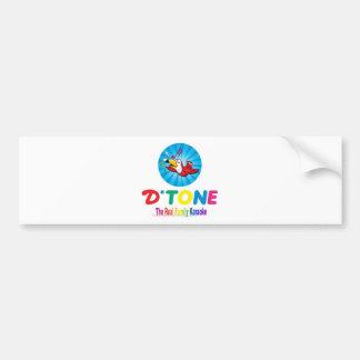 D'Tone Family Karaoke Souvenir Bumper Stickers