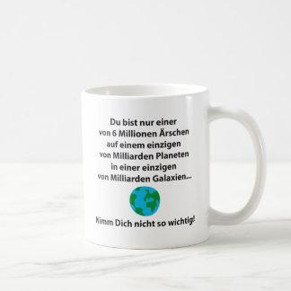 Du bist nur einer tee haferl