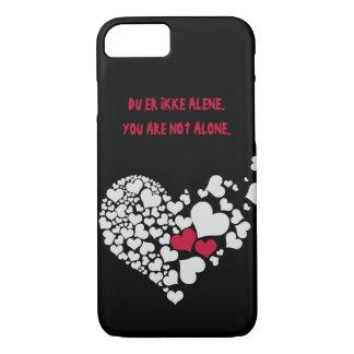 Du Er Ikke Alene iPhone Case