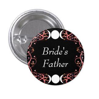 Dual Goddess Lesbian Bride's Father Pin
