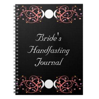 Dual Goddess Wiccan Lesbian Bride's Journal Notebooks