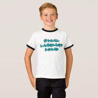 Dual language squad, bilingual shirt