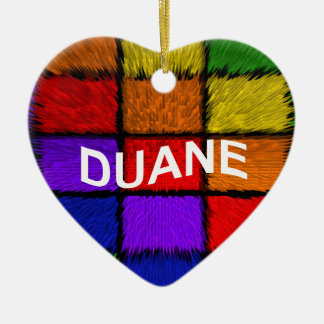 DUANE CERAMIC ORNAMENT
