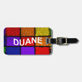 DUANE LUGGAGE TAG