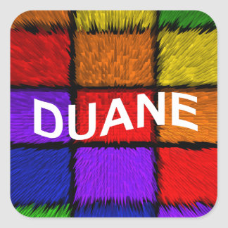 DUANE SQUARE STICKER