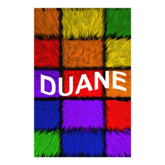 DUANE STATIONERY