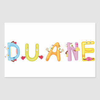Duane Sticker
