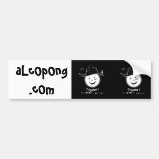 DuB aLcOpOng.com, aLcOpOng.cOm Bumper Sticker