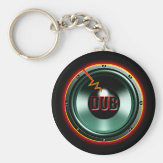 DUB RED HOT WOOFER t-shirts Key Ring