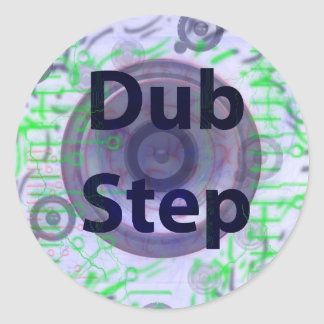 Dub Step Sticker
