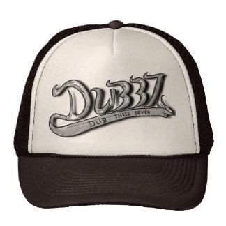 Dub Three Seven Chrome/Black Trucker Cap
