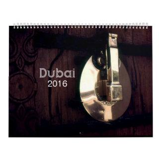 Dubai 2016 wall calendar
