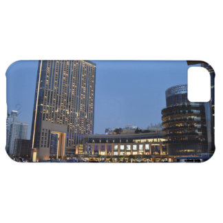 Dubai architecture at night iPhone 5C case