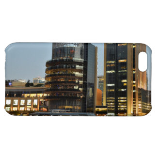 Dubai architecture at night iPhone 5C cases