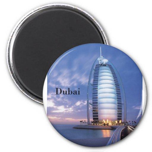Dubai Burj Al Arab Hotel (by St.K) Fridge Magnets