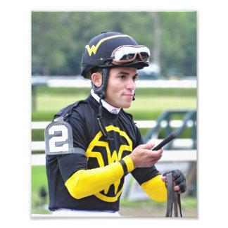 Dubai Derby winning jockey Joel Rosario Photo Art