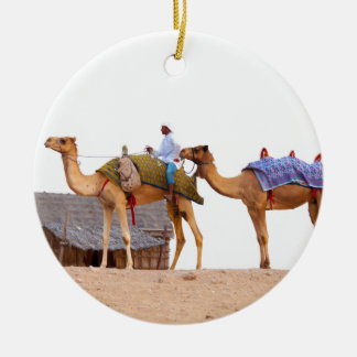 Dubai desert ceramic ornament