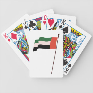Dubai Flag Bicycle Playing Cards
