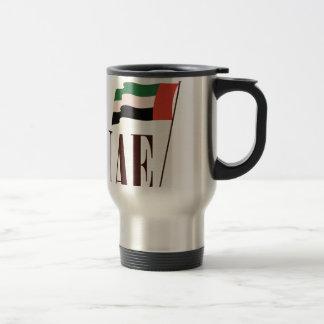 Dubai Flag UAE Travel Mug