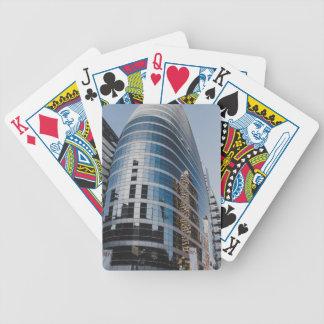 Dubai glass skyscraper poker deck