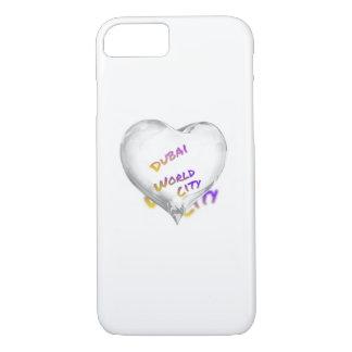 Dubai Heart, world city iPhone 8/7 Case