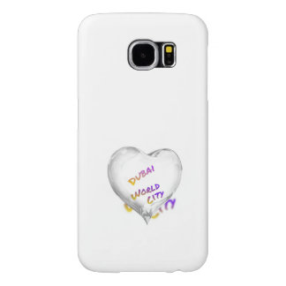 Dubai Heart, world city Samsung Galaxy S6 Cases