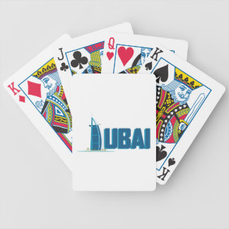 Dubai Hotel Bicycle Playing Cards