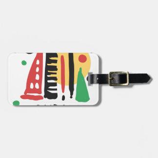 Dubai Luggage Tag